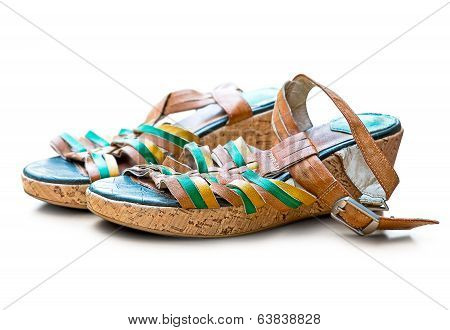 Tumble Down Shoes Isolated