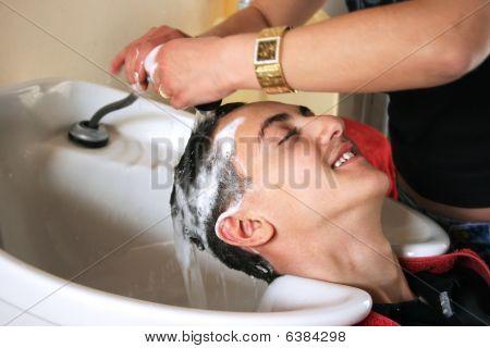 Trabajo de peluquería