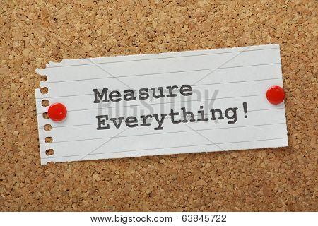 Measure Everything!