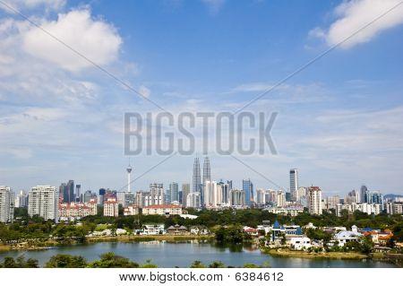 Photo of Kuala Lumpur Skyline in Malaysia