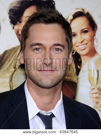LOS ANGELES - MAR 10:  Ryan Eggold arrives to the Tyler Perry's