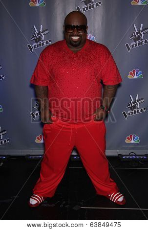LOS ANGELES - OCT 28:  CEE-LO GREEN arrives to the