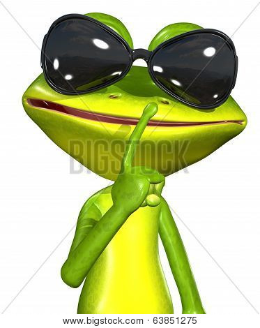 Frog With Sunglasses