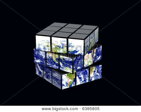 Earth As Magic Cube