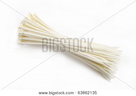 Cable Ties In White