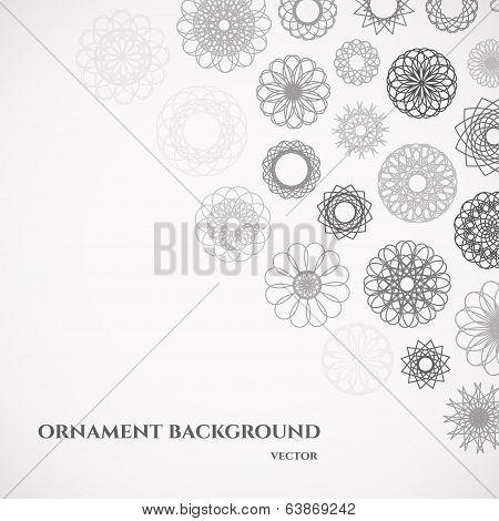 Round Ornament Background
