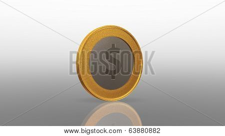 Dollar Currency Gold Silver Coin Mix 45 Degree