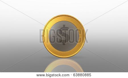 Dollar Currency Gold Silver Coin Mix