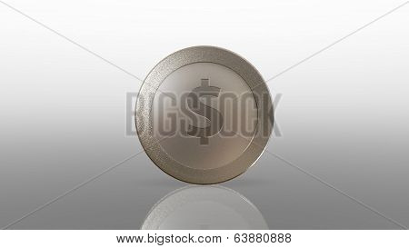 Dollar Currency Silve Coin