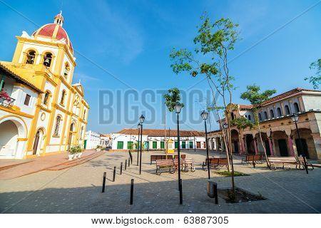Plaza In Mompox