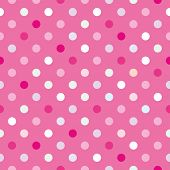 Постер, плакат: Polka Dots Color 36 eps