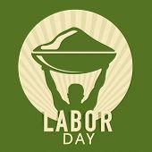 foto of labor  - Vintage poster - JPG