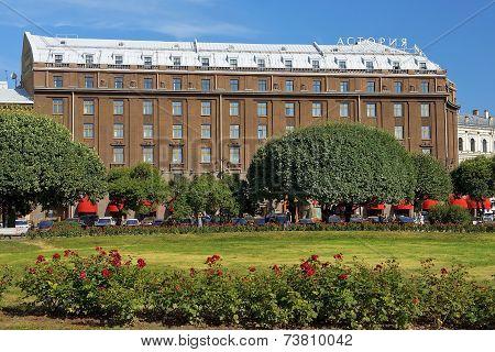 Five-star Hotel Astoria In Saint Petersburg