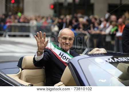 Former NYPD commissioner Ray Kelly