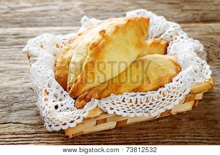 Pastries Stuffed Meat