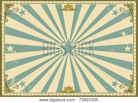 vintage certificate horizontal background. A vintage poster with sunbeams for your advertising. Perfect size for a screen.