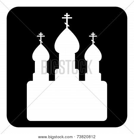 Orthodox Church Sign Button