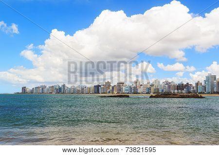Beach Praia Da Costa,  Vila Velha, Espirito Sando, Brazil