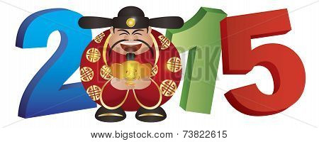 2015 Chinese Prosperity Money God