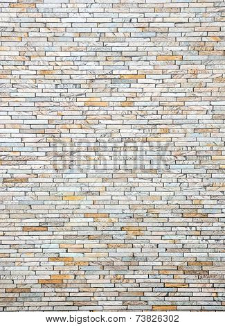 Modern brick wall using as background