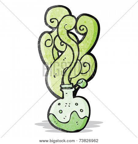 cartoon science potion
