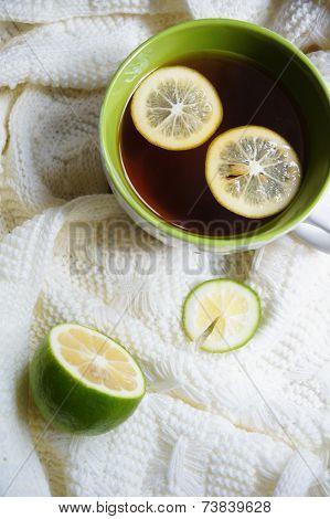 Tea With Lemon An Scarf