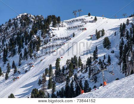 Harakiri Ski Piste In Mayrhofen, Austria