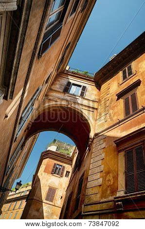 Old Town in Rome - Italy