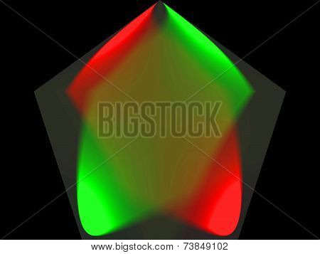 Background, prism