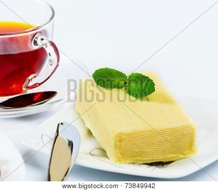 Briquette butter