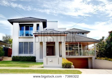 Modern Architect House In Grey