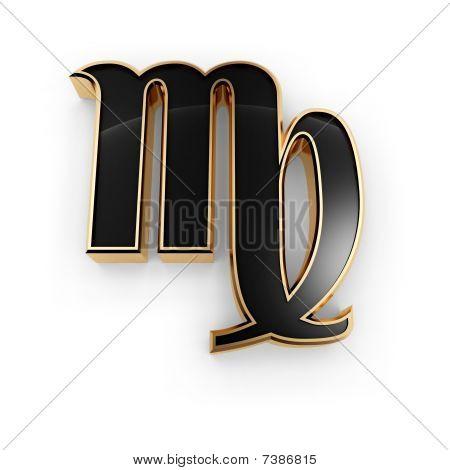 Virgo Zodiac Symbol Icon