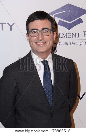 LOS ANGELES - OCT 14:  John Oliver at the Fulfillment Fund Stars Benefit Gala 2014 at Beverly Hilton Hotel on October 14, 2014 in Beverly Hills, CA