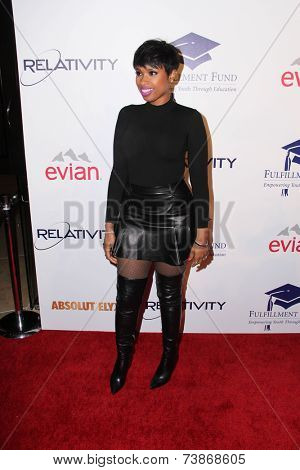 LOS ANGELES - OCT 14:  Jennifer Hudson at the Fulfillment Fund Stars Benefit Gala 2014 at Beverly Hilton Hotel on October 14, 2014 in Beverly Hills, CA
