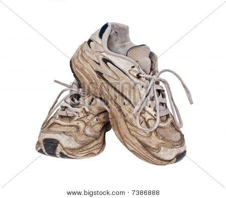 Old, Worn Sneakers