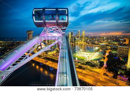 Singapore Flyer, Largest Wheel In The World