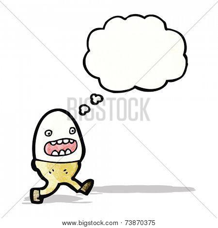 egg cartoon character