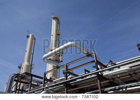 Gas Compressor Plant Piping