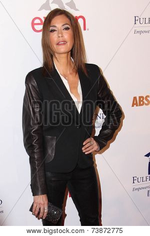LOS ANGELES - OCT 14:  Teri Hatcher at the Fulfillment Fund Stars Benefit Gala 2014 at Beverly Hilton Hotel on October 14, 2014 in Beverly Hills, CA