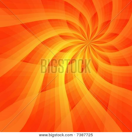 Abstract vivid orange background (vector EPS 10)