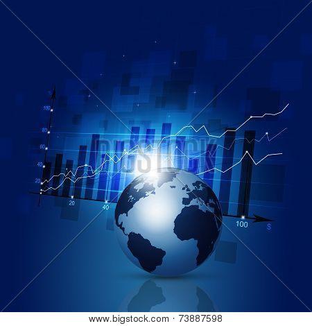 Finance Diagram Business Background