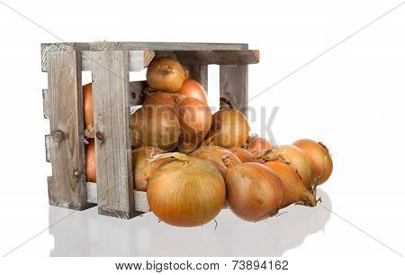 Onios In A Wooden Crate