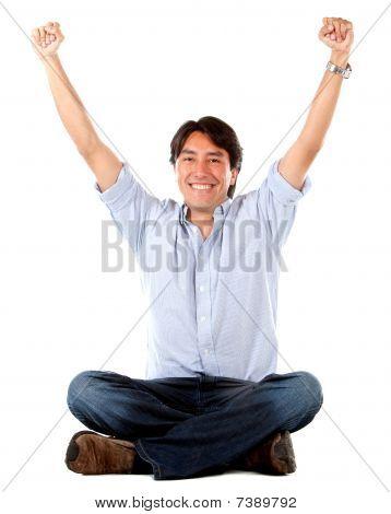 Successful Man Smiling