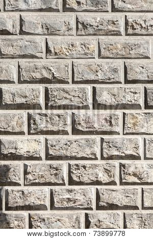 High Contrast Sand Stone Wall For Backgrounds