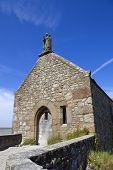 pic of mont saint michel  - Saint Aubert Chapel - JPG