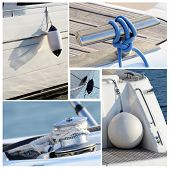 pic of snatch  - Collage of modern sailing boat stuff  - JPG