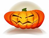 picture of halloween characters  - Illustration of cartoon funny jack o - JPG
