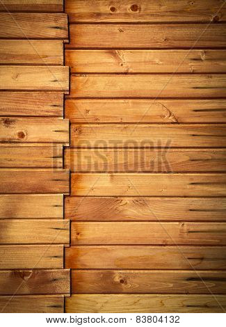 Horizontal Wooden Paneling Profile