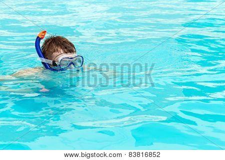 Man Swims