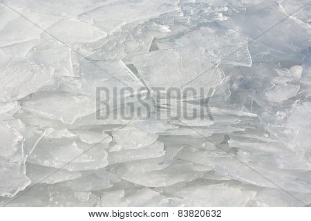 Icy Texture. Picture Can Be Used As A Background
